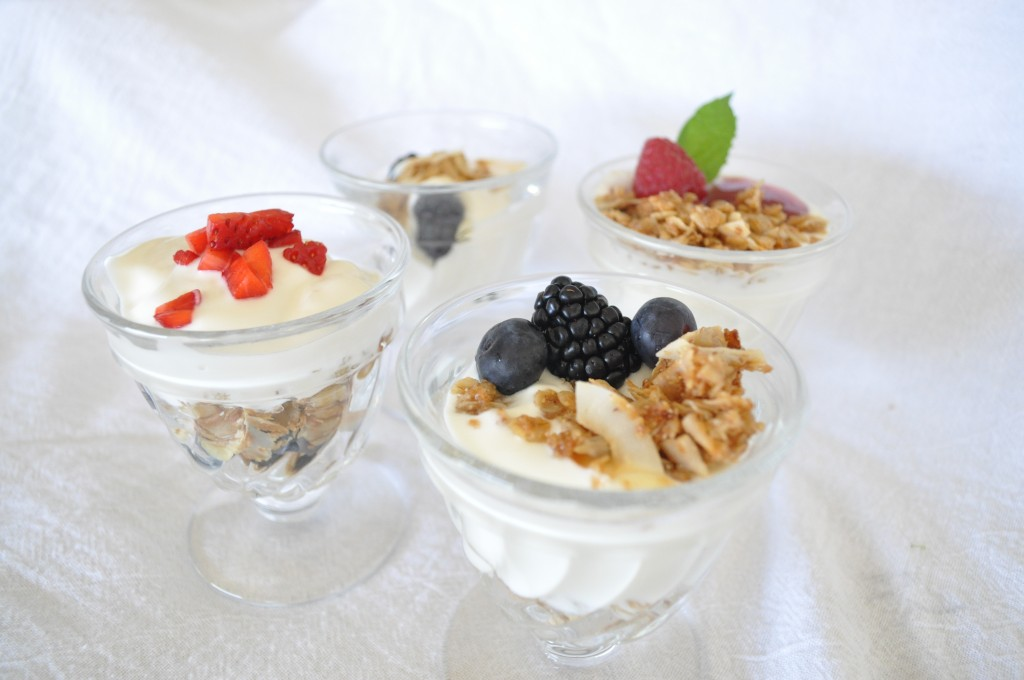 Yogurt, Gronola & Berries