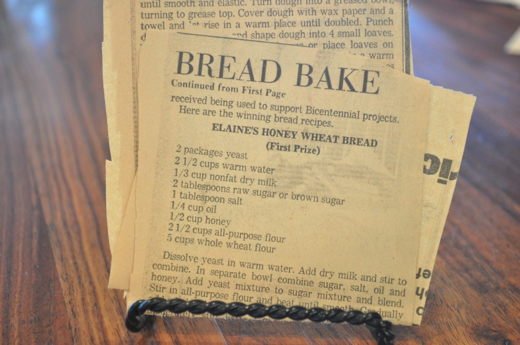 Elaine's Honey Wheat Bread  Recipe