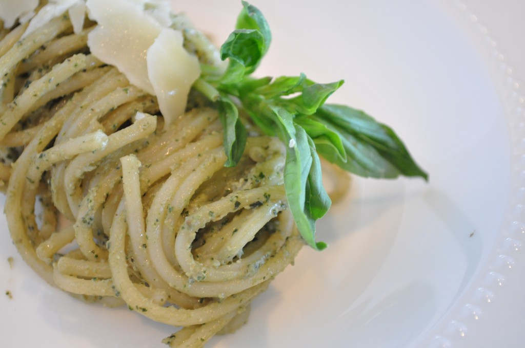 Basil Pesto - Dinner TIme!