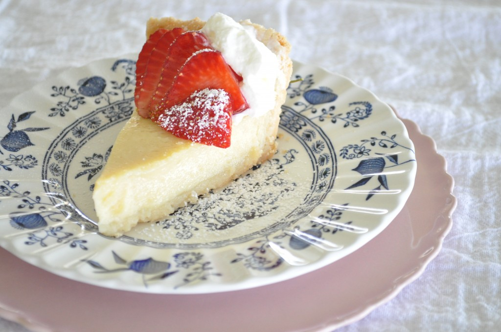 Buttermilk Pie - Summer Strawberry