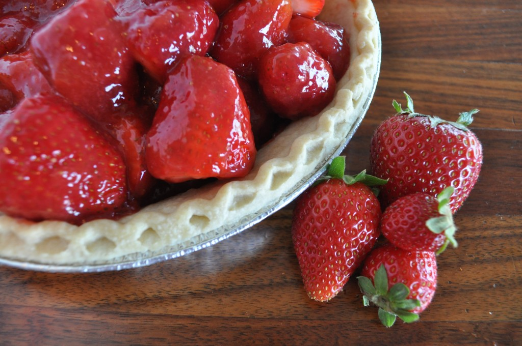 Strawberry Pie - Glazed and Ready